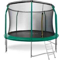 Батут Oxygen Fitness Premium 12 ft inside (Dark green)