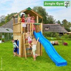 Детский городок Jungle Gym Chalet + PlayhouseModule