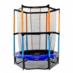 Батут Hudora Safety trampoline Jump in 3.0, 140 cm
