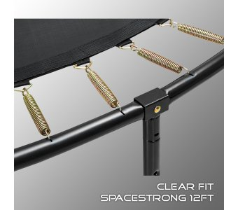 Батут Clear Fit SpaceStrong 12ft - фото 4
