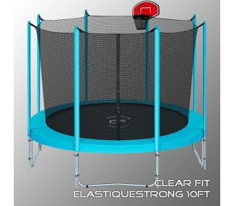 Батут Clear Fit ElastiqueStrong 10ft - фото 2
