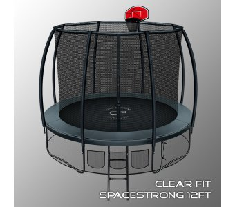 Батут Clear Fit SpaceStrong 12ft - фото 2